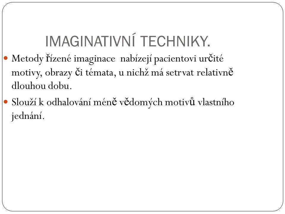 IMAGINATIVNÍ TECHNIKY.