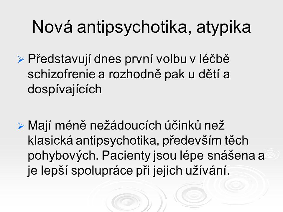 Nová antipsychotika, atypika
