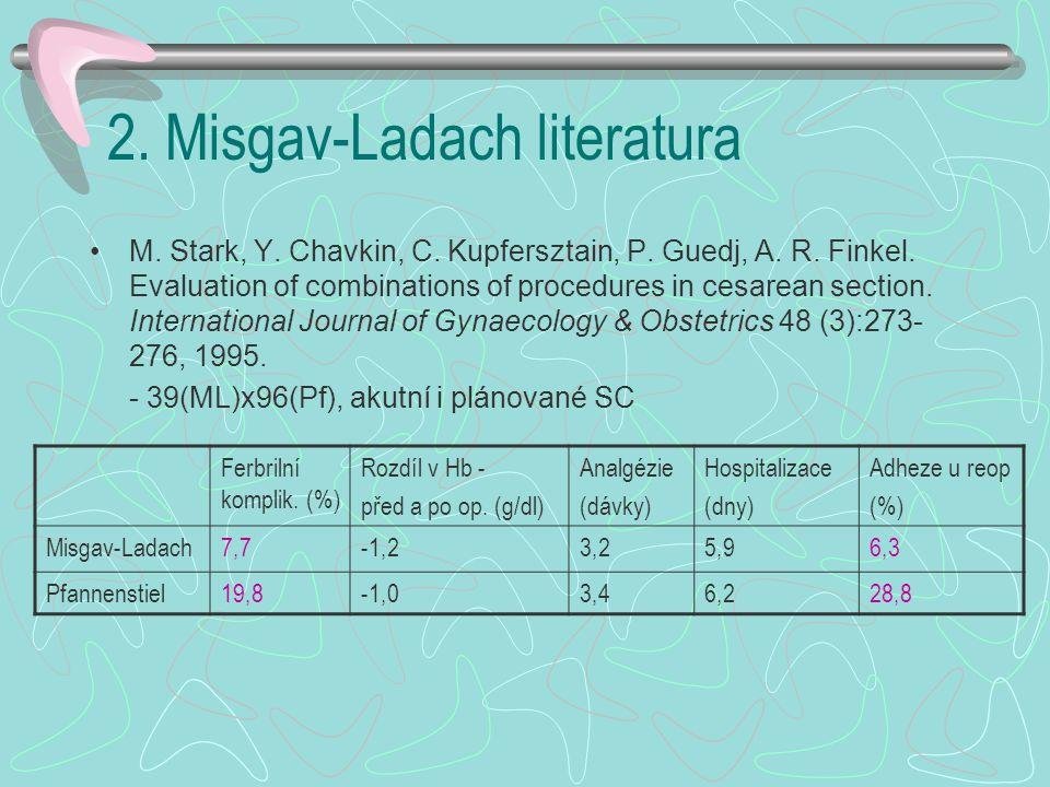 2. Misgav-Ladach literatura