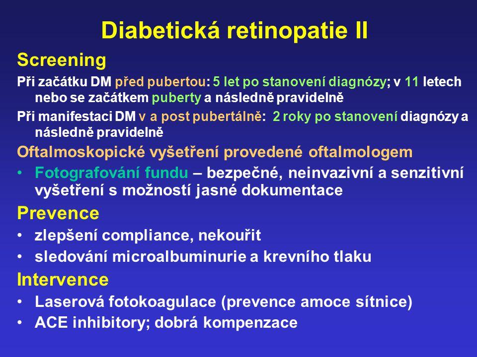 Diabetická retinopatie II