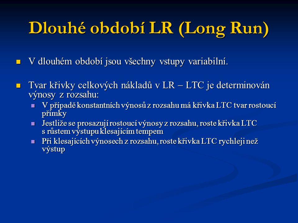 Dlouhé období LR (Long Run)