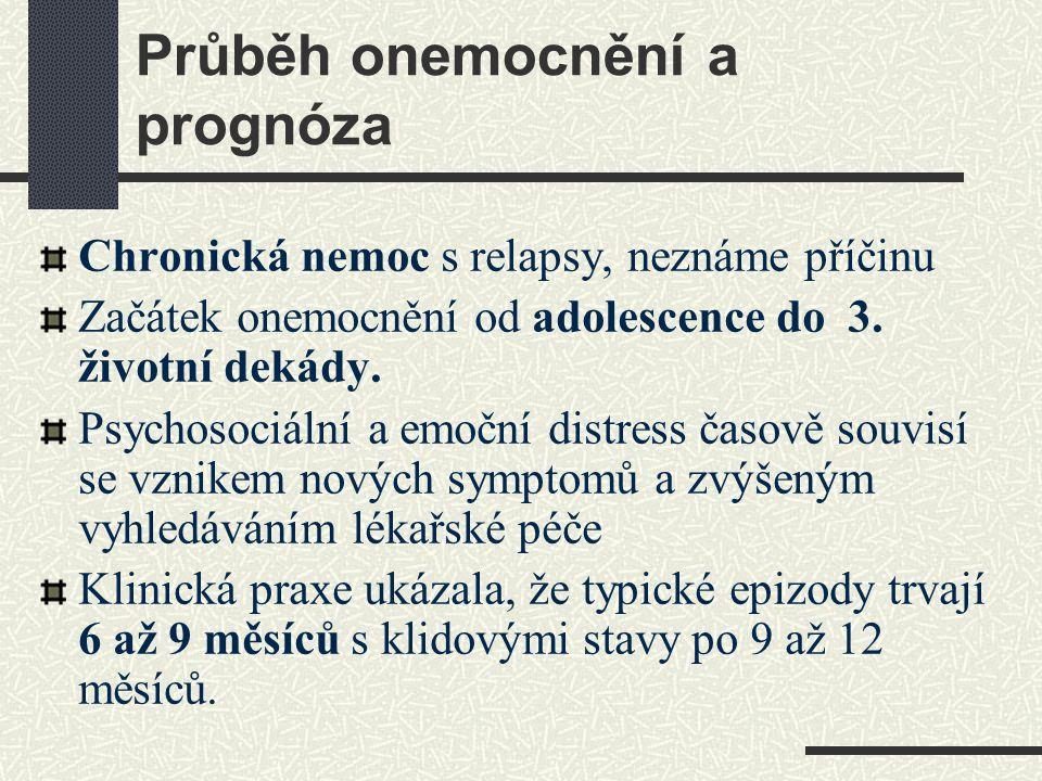 Průběh onemocnění a prognóza