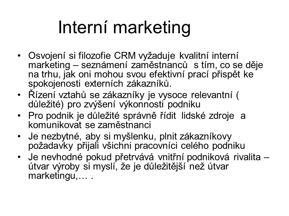 Interní marketing