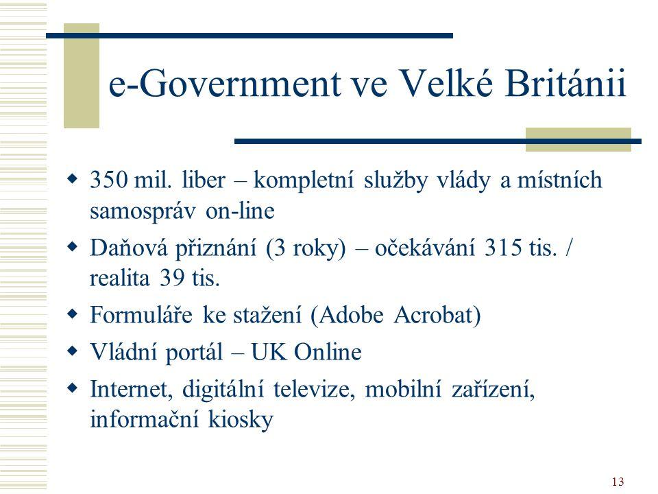 e-Government ve Velké Británii