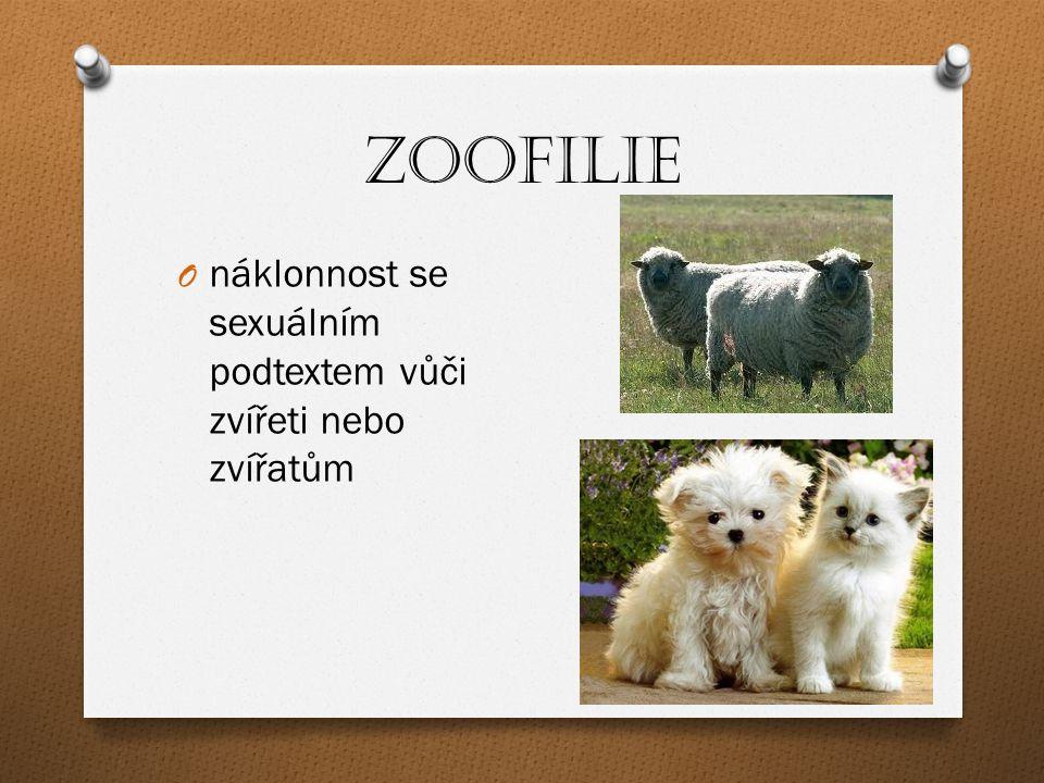Zoofilie náklonnost se sexuálním podtextem vůči zvířeti nebo zvířatům