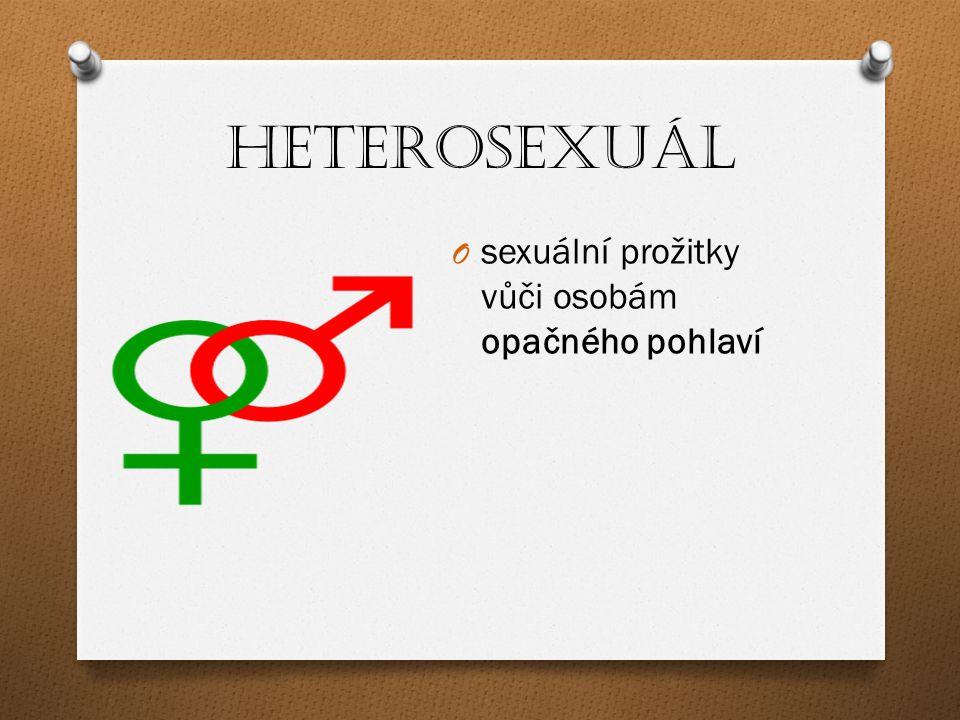 Heterosexuál sexuální prožitky vůči osobám opačného pohlaví