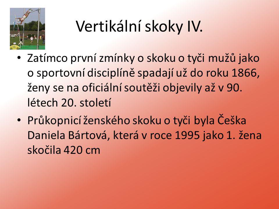 Vertikální skoky IV.