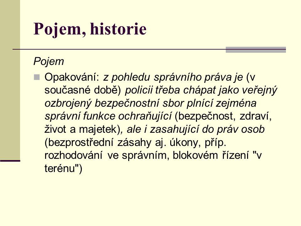 Pojem, historie Pojem.