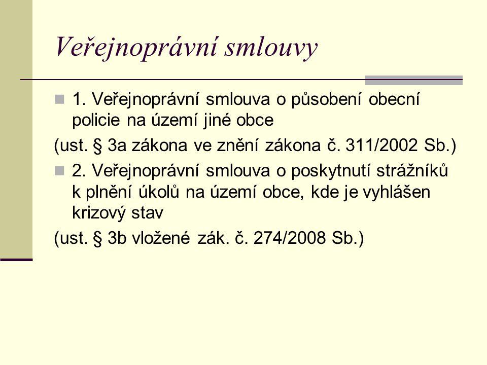Veřejnoprávní smlouvy