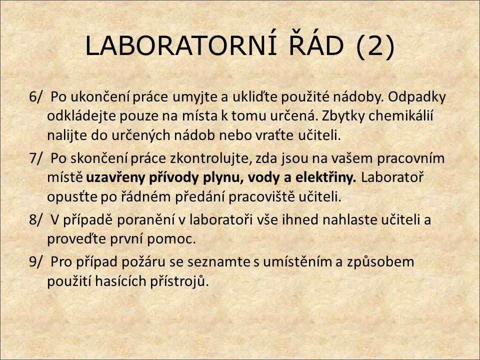 LABORATORNÍ ŘÁD (2)