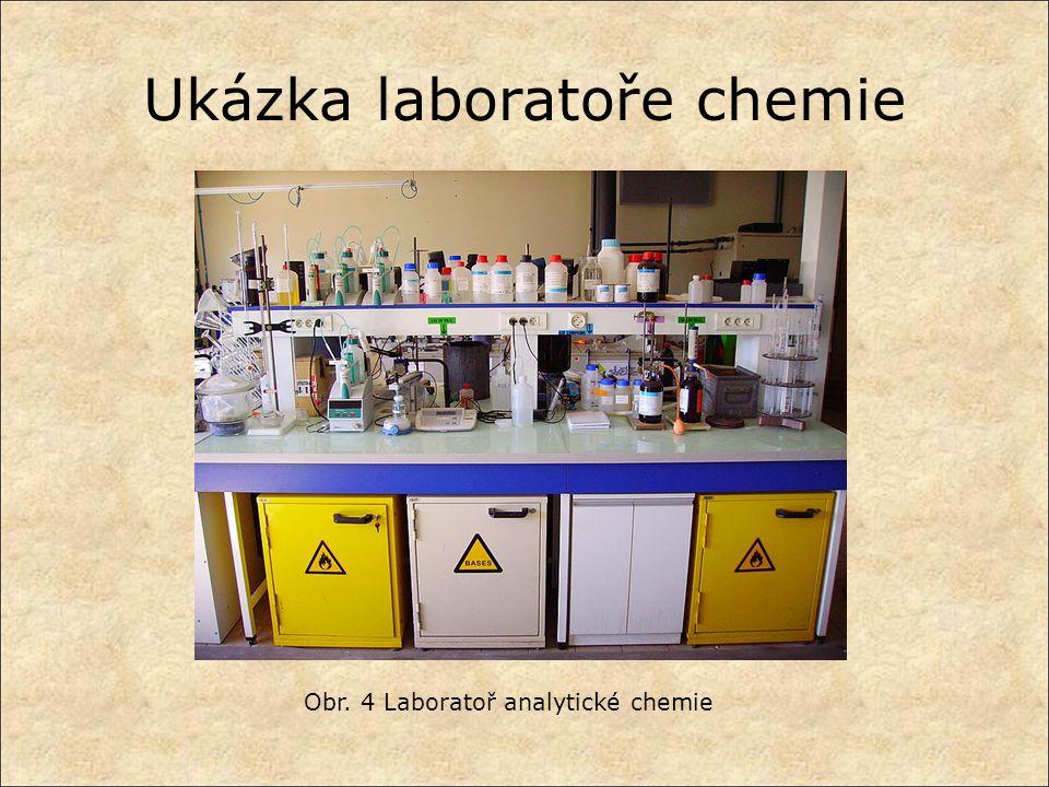 Ukázka laboratoře chemie