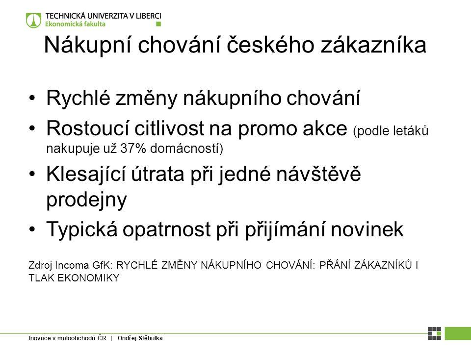Nákupní chování českého zákazníka