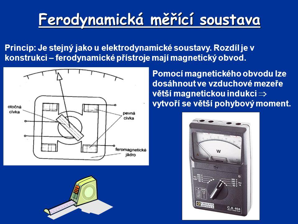 Ferodynamická měřící soustava