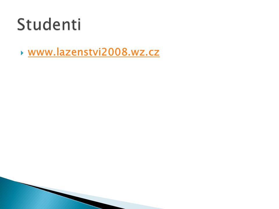Studenti www.lazenstvi2008.wz.cz