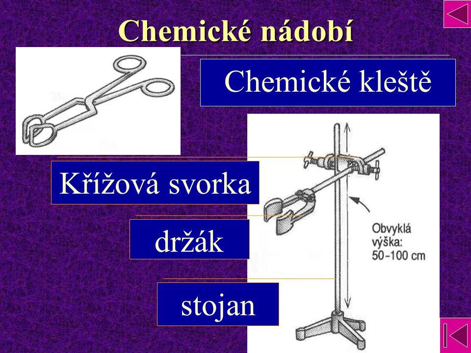 Chemické nádobí Chemické kleště Křížová svorka držák stojan