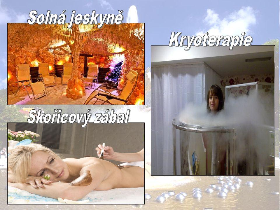 Solná jeskyně Kryoterapie Skořicový zábal