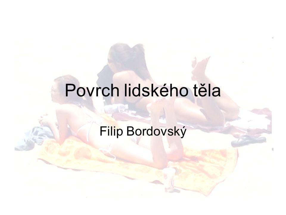 Povrch lidského těla Filip Bordovský