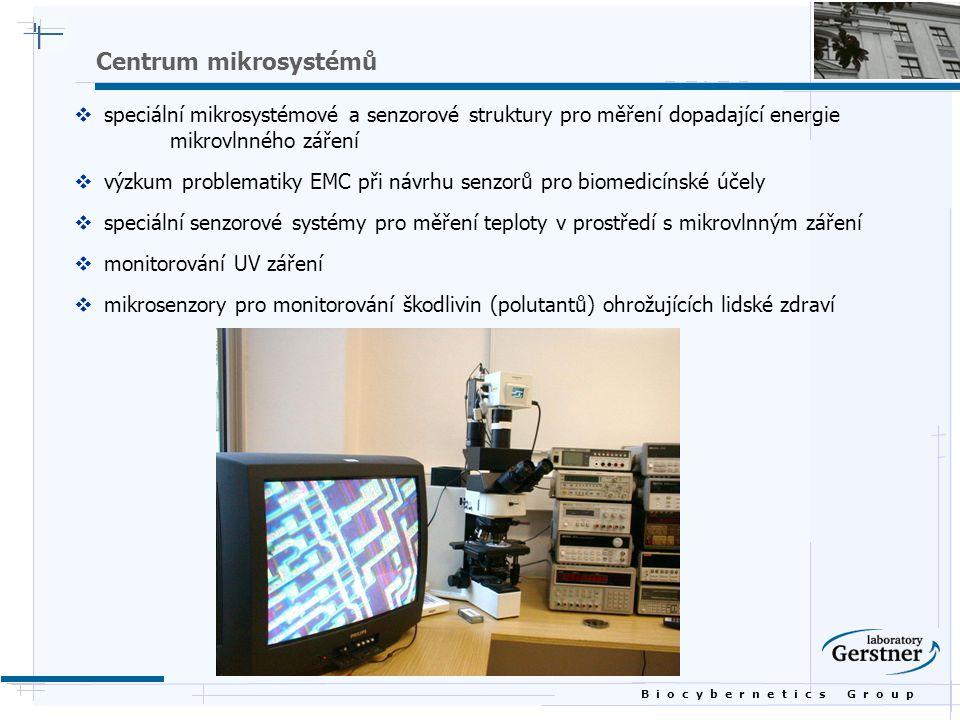 Centrum mikrosystémů speciální mikrosystémové a senzorové struktury pro měření dopadající energie mikrovlnného záření.