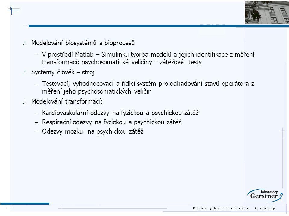 Modelování biosystémů a bioprocesů