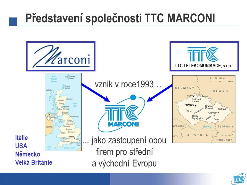 Představení společnosti TTC MARCONI