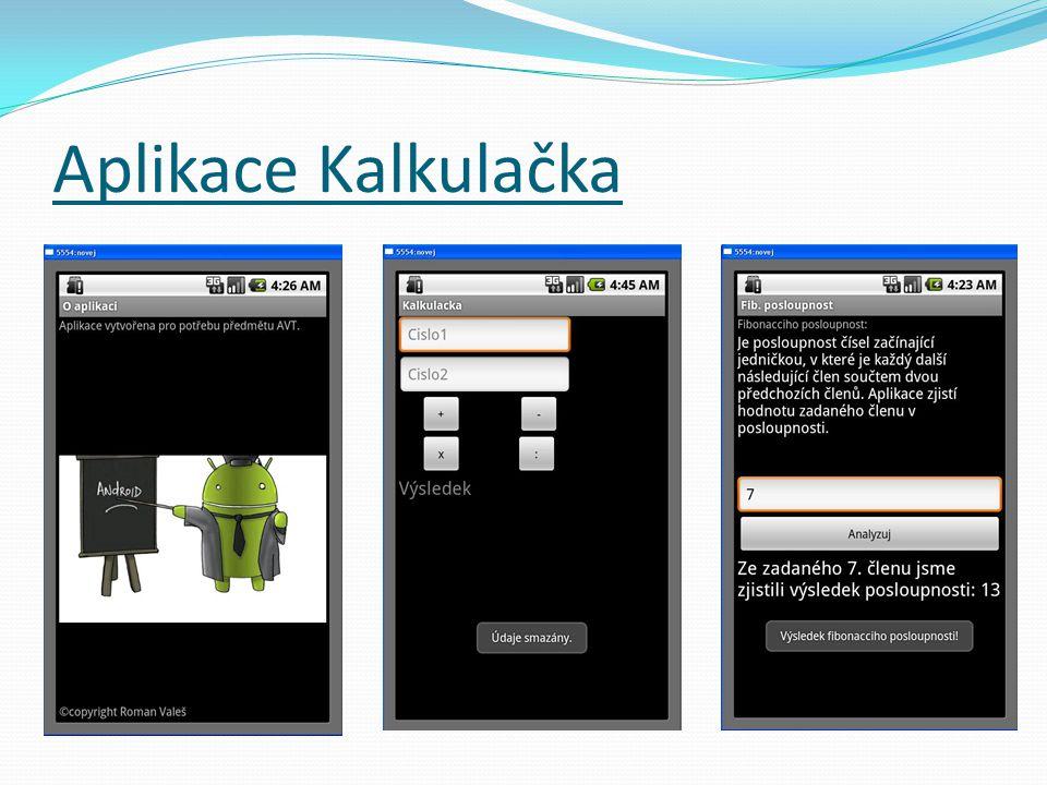 Aplikace Kalkulačka