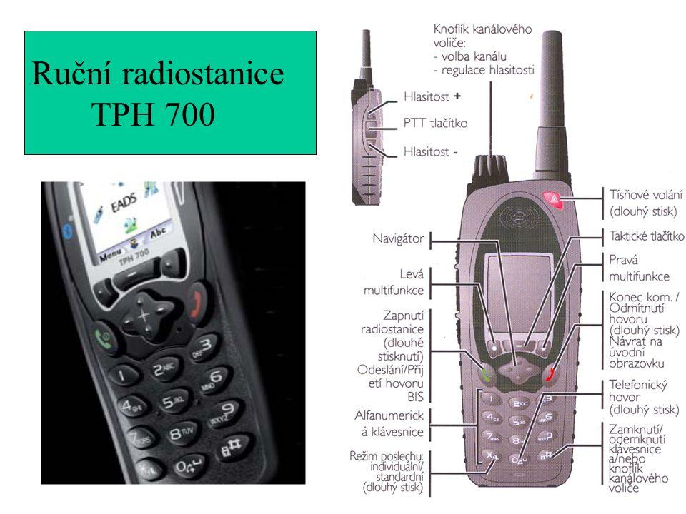 Ruční radiostanice TPH 700