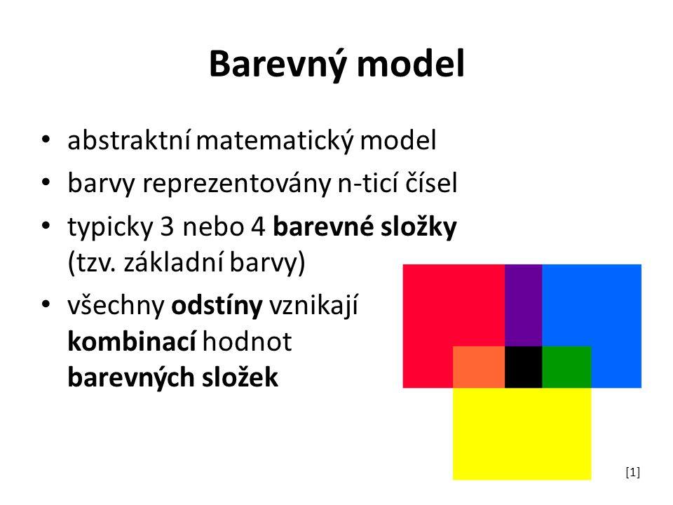 Barevný model abstraktní matematický model