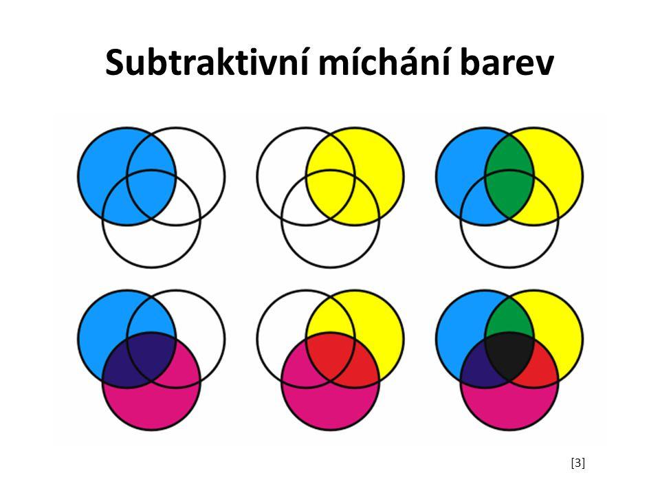 Subtraktivní míchání barev