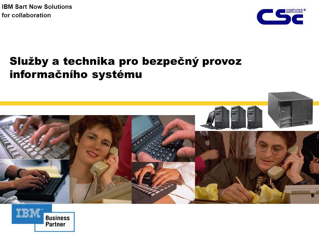 Služby a technika pro bezpečný provoz informačního systému