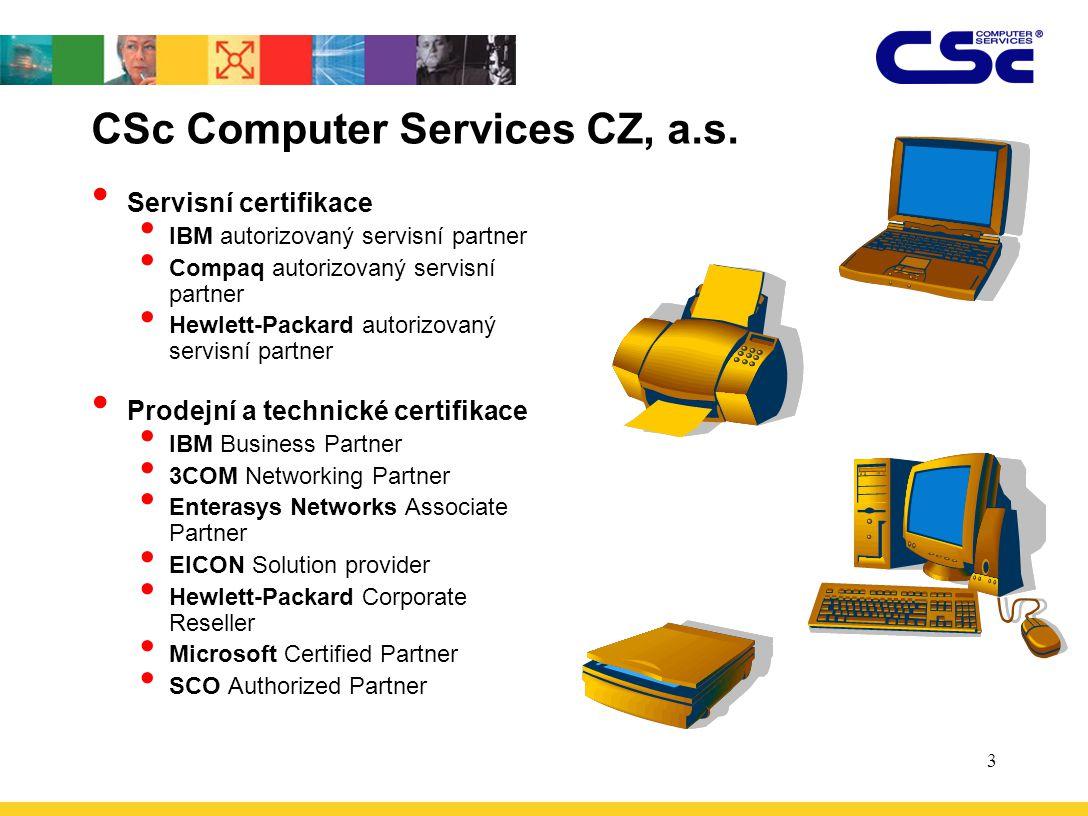 CSc Computer Services CZ, a.s.
