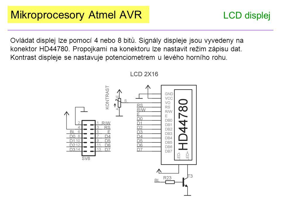 Mikroprocesory Atmel AVR