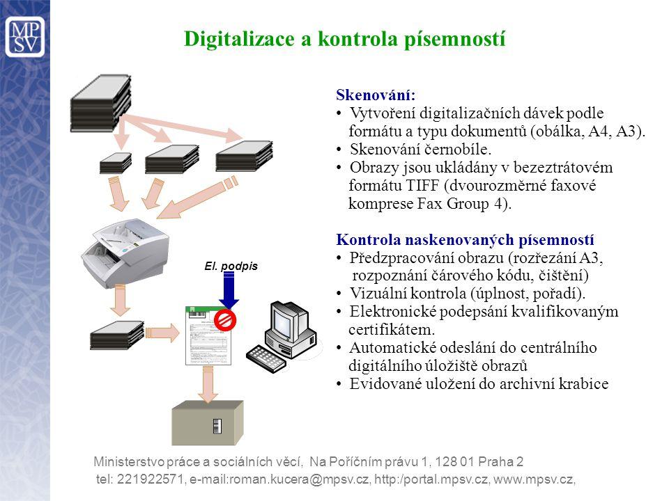 Digitalizace a kontrola písemností