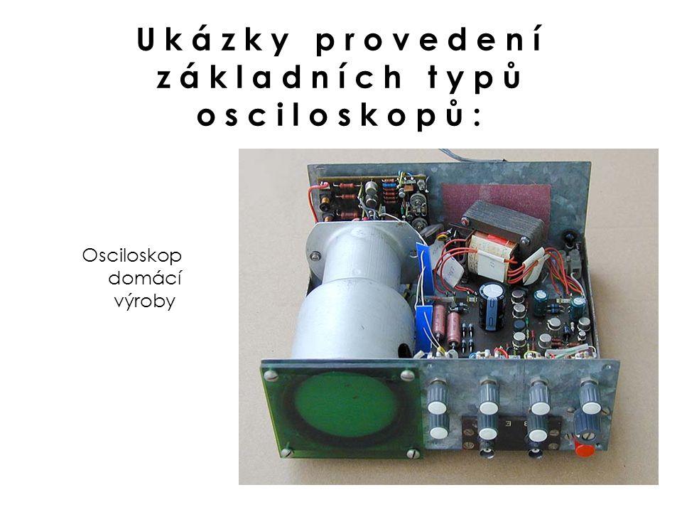 Osciloskop domácí výroby