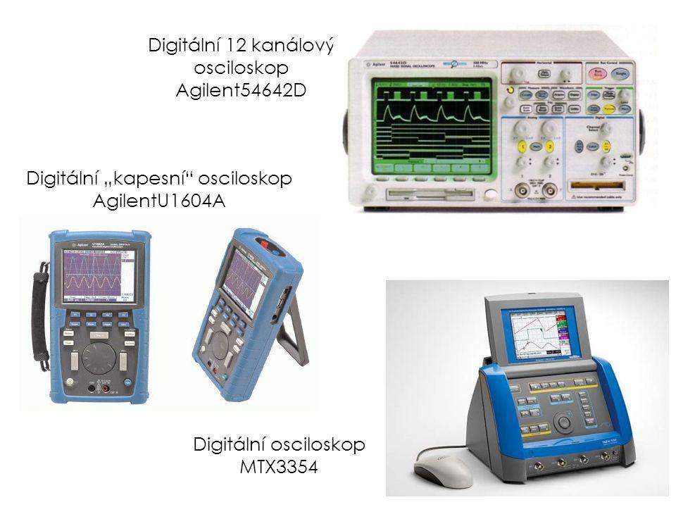 Digitální 12 kanálový osciloskop Agilent54642D