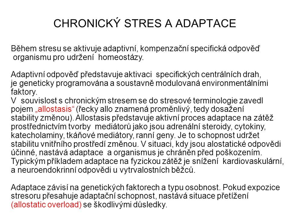 CHRONICKÝ STRES A ADAPTACE