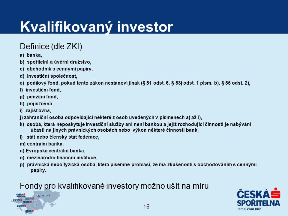 Kvalifikovaný investor