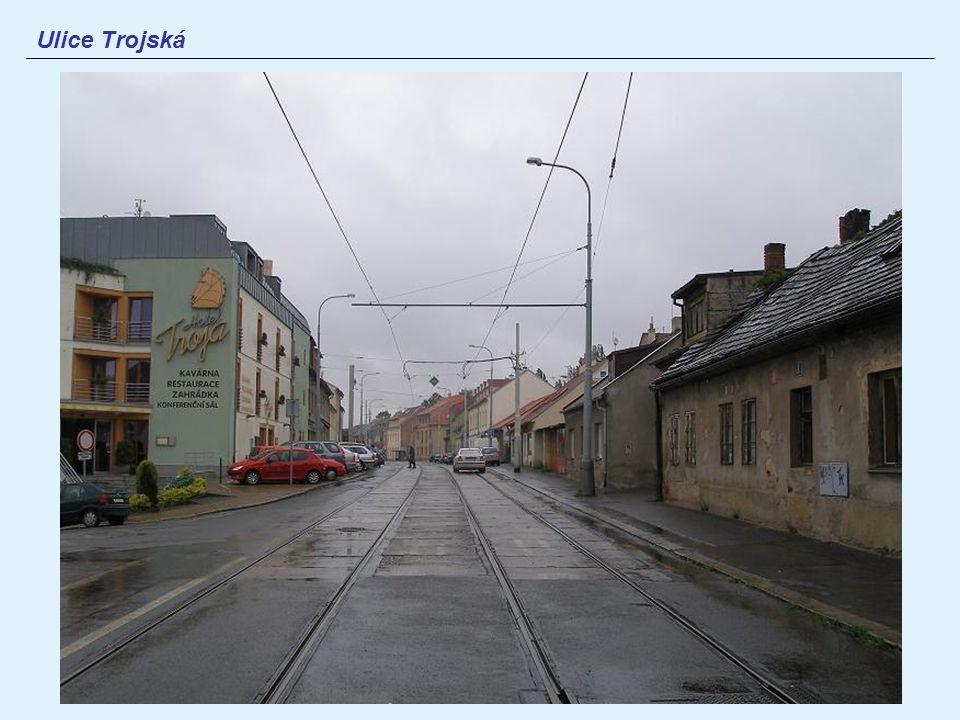 Ulice Trojská
