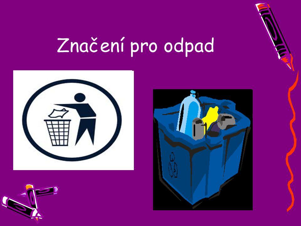 Značení pro odpad