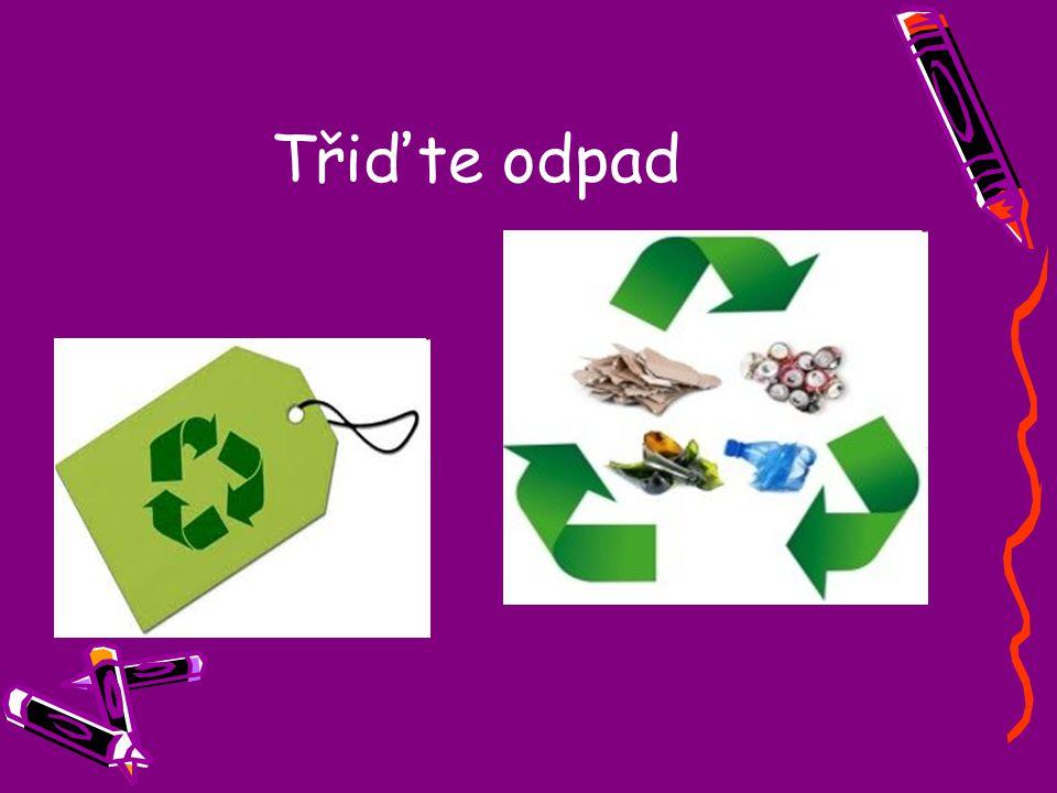 Třiďte odpad