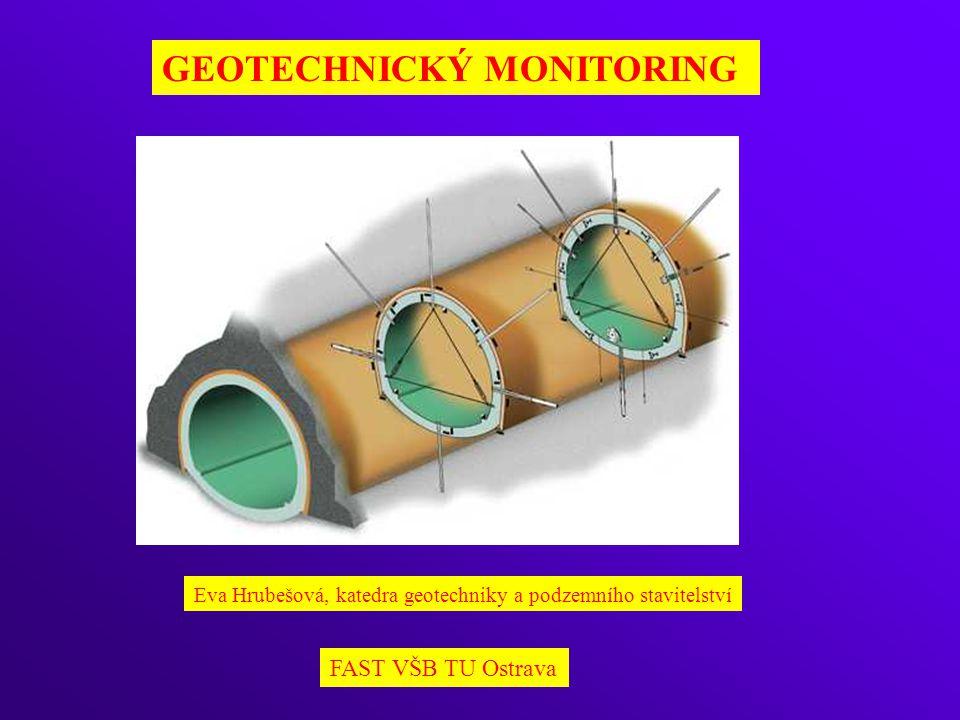 GEOTECHNICKÝ MONITORING