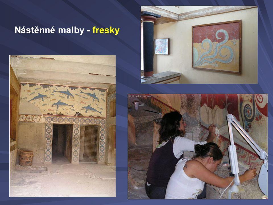 Nástěnné malby - fresky