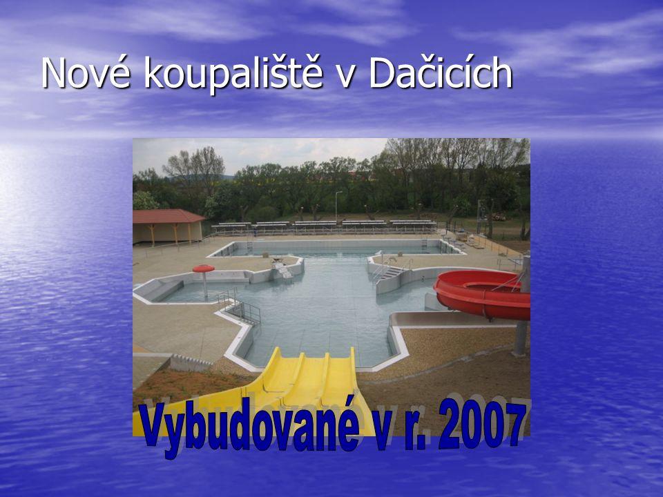 Nové koupaliště v Dačicích