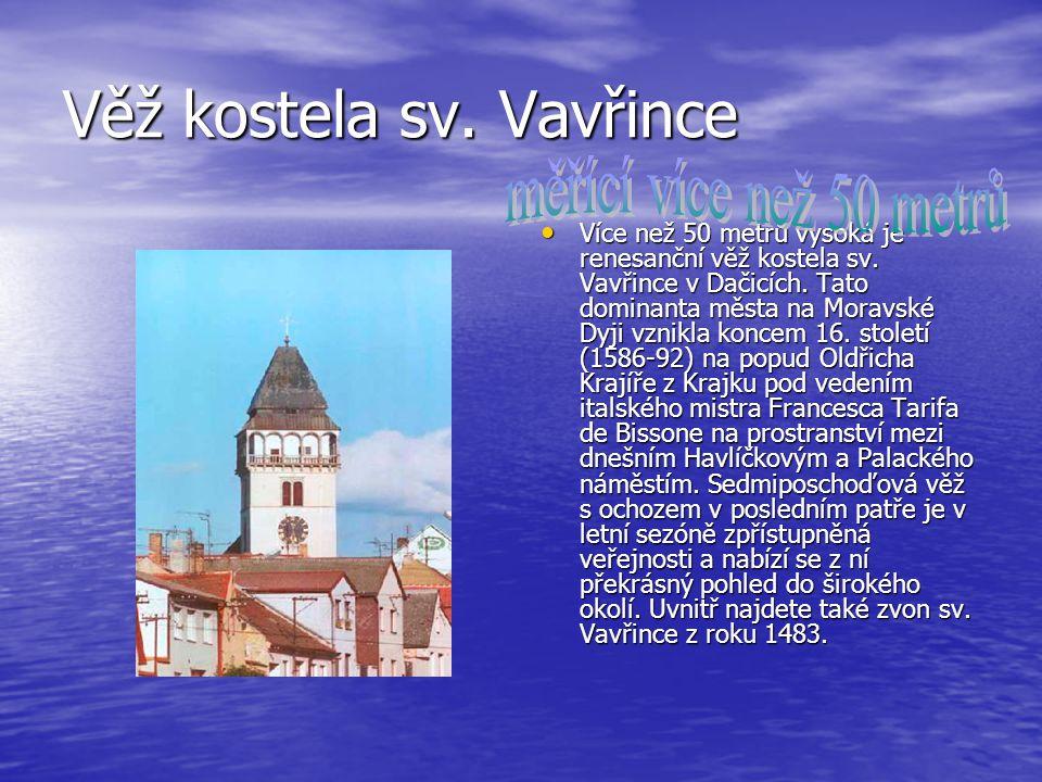 Věž kostela sv. Vavřince