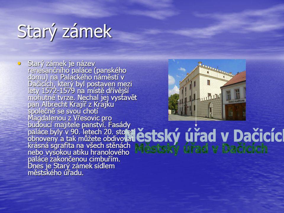 Městský úřad v Dačicích
