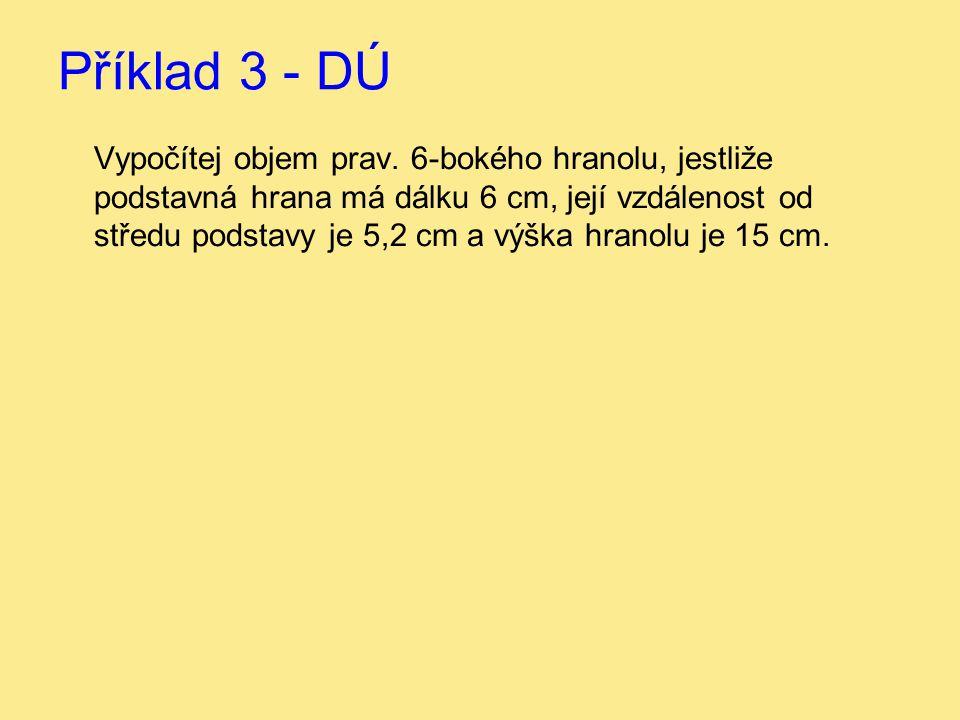 Příklad 3 - DÚ