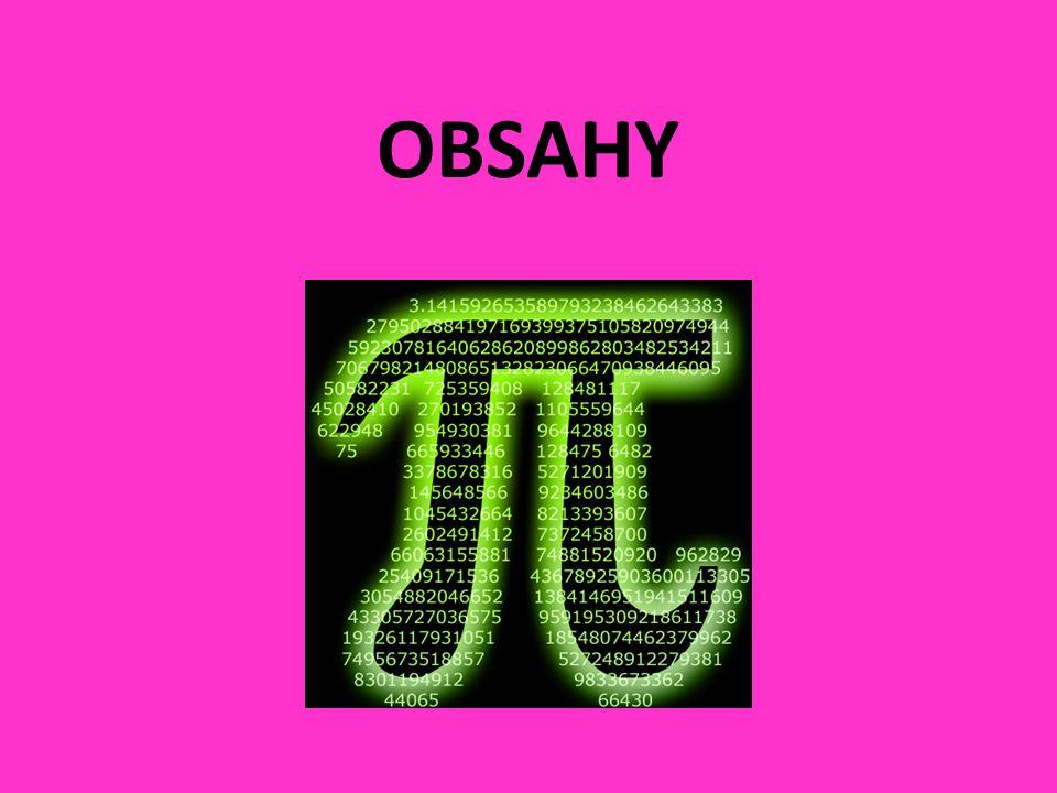 OBSAHY