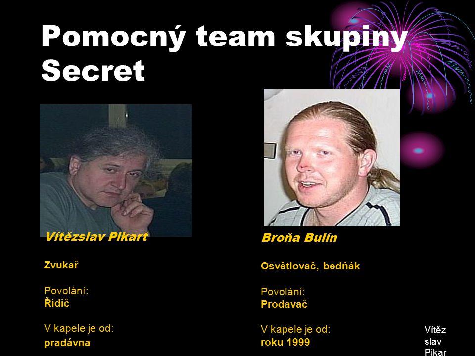 Pomocný team skupiny Secret