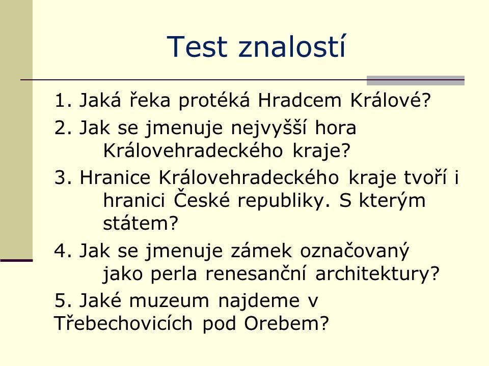 Test znalostí