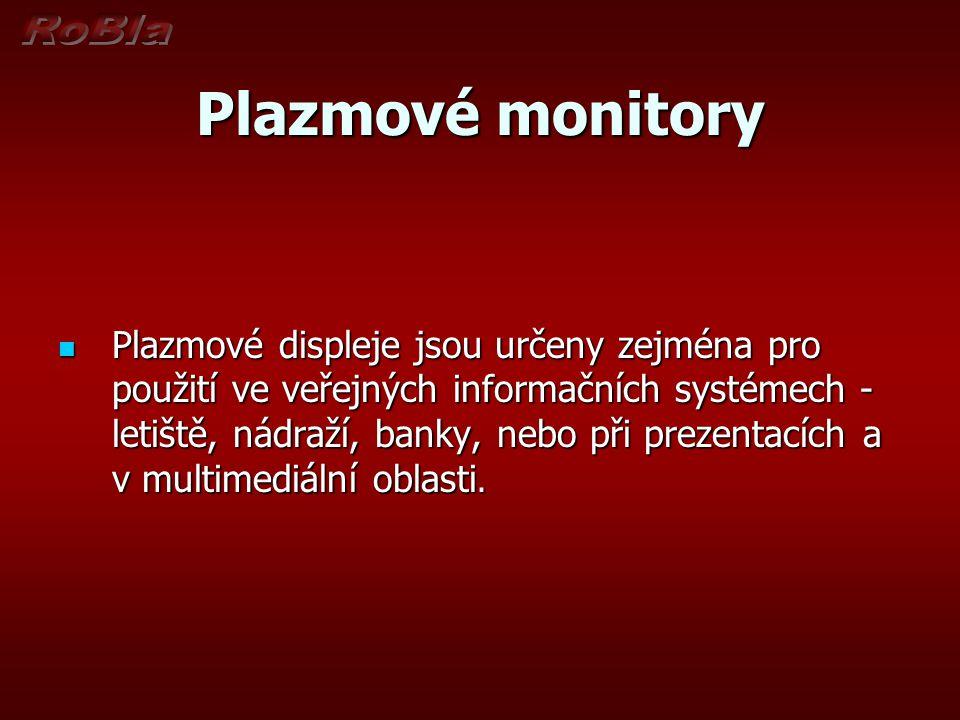 Plazmové monitory