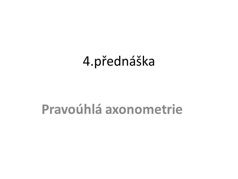 Pravoúhlá axonometrie